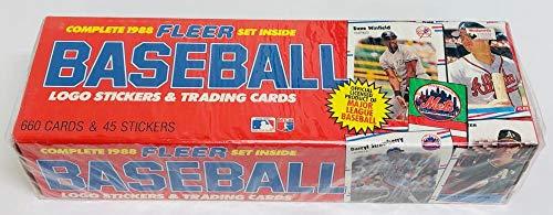1988 Fleer Baseball Factory Set At Amazons Sports Collectibles Store
