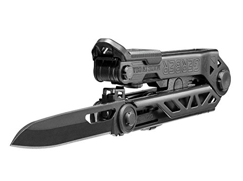 Gerber Center-Drive Black Multi-Tool | M4 Bit Set, Black US-Made Sheath [30-001427] by Gerber (Image #6)