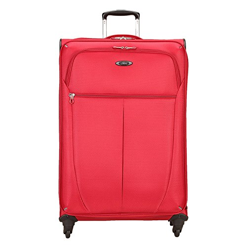 Skyway Luggage Mirage Superlight 28-Inch 4 Wheel Expandable Upright, Formula 1 Red, One Size -