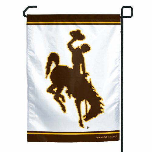 NCAA Wyoming Cowboys Garden Flag (Indoor Flag Wyoming)