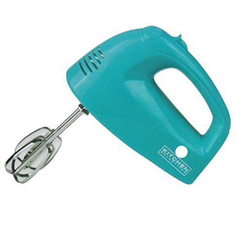 Kitchen Selectives Colors Aqua Teal Five Speed Hand Mixer