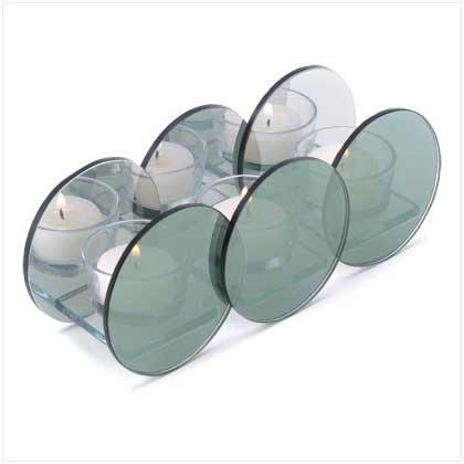 ndleholder 3 Candle Holder Glass ()