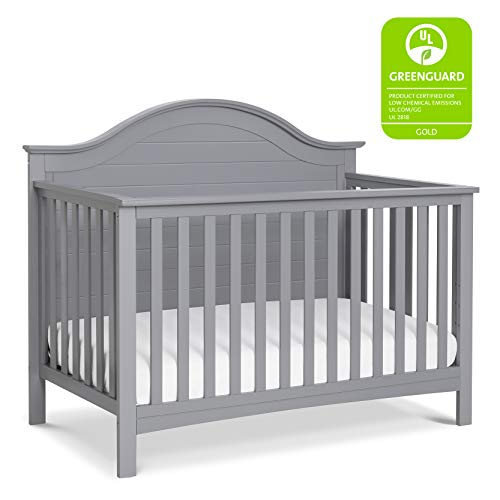 Carter s by DaVinci Nolan 4-in-1 Convertible Crib in Grey, Greenguard Gold Certified