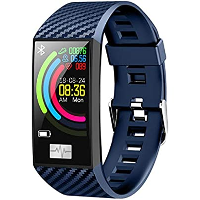 Fitness Tracker Waterproof Smart Watch Bluetooth Sports Bracelet with Heart Rate Blood Pressure Monitor Calorie Counter Wristband Compatible with iOS Android for Men Women Estimated Price £32.37 -