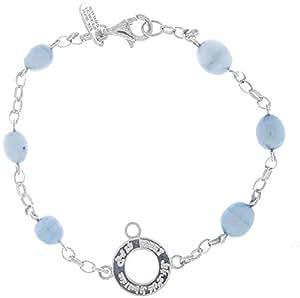 Freej 925 Silver Inorganic Pearl Design Bracelet FC00001BSPSC