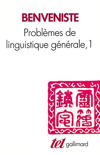 [E.B.O.O.K] Problèmes de linguistique générale, tome 1 [P.D.F]