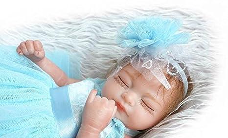 Lilith 10 Inch 26cm Mini Full Body Reborn Doll Silicone Baby Girl Hard Vinyl Realistic Looking Baby Dolls Kids Xmas Gift White Dress