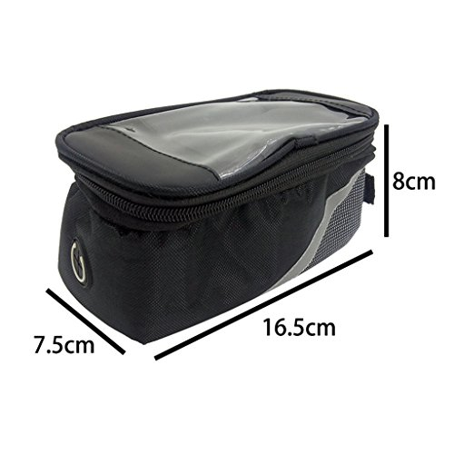 ZOOMPOWER controller electric bike bag waterproof bicycle front beam top tube cycling storage by ZOOMPOWER (Image #1)