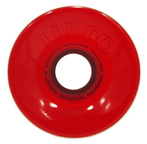 写真を描く遡る借りているオージェー (OJ) HOT JUICE TRANS RED 60mm 78a スケートボード ウィール スケボー