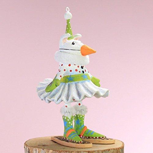 Patience Brewster Mini Alaska Snow Dog Figural Ornament #31209 - Krinkles Christmas Reindeer