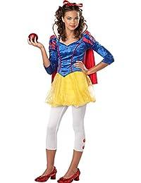 Sassy Snow White Tween Costume, Large