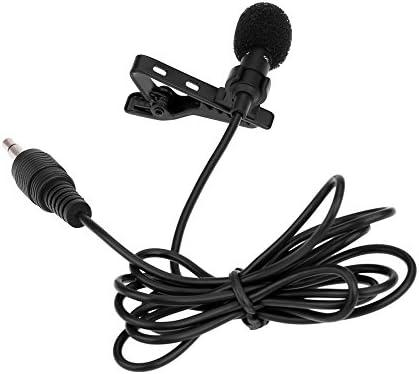 RRYM Micrófonos Super solapa clip de corbata metal mono micrófono ...