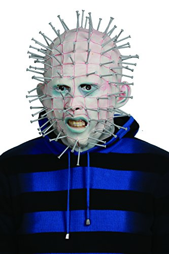 Pinhead Mask Adults Cosplay Latex Mask Cosplay Accessory ()