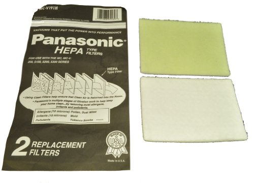Panasonic Upright Vacuum Cleaner Hepa Filter Models: MC-V200, 5100, 5200, 5300 Series