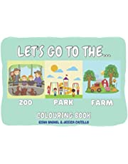 Let's go on an adventure!: A Coloured By Me Book