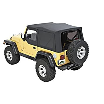 Pavement Ends by Bestop 51197-37 Spice Replay Replacement Soft Top Tinted Back Windows w//Upper Door Skins for 1997-2006 Jeep Wrangler