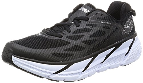 Hoka Clifton 3 Women's Running Shoes - SS17-6 - Black