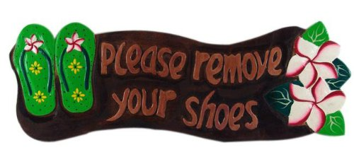 remove shoes sign hawaii - 3
