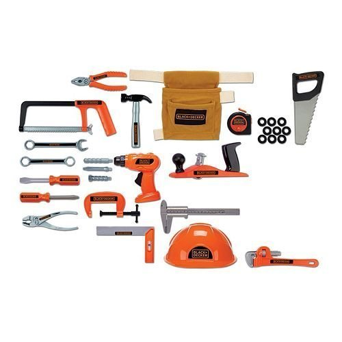 Black and Decker Junior 50 pc Ultimate Tool Set by BLACK+DECKER