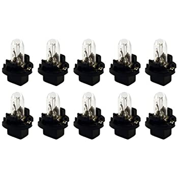 CEC Industries PC74 Bulbs, 14 V, 1.4 W, Printed Circuit Base, T-1.75 shape (Box of 10)