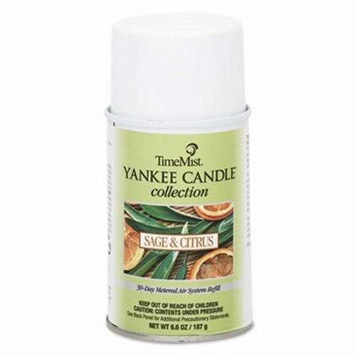TMS812250TMCA - Yankee Candle Air Freshener Refill, Sage amp; Citrus, Aerosol, 6.6 Oz ()