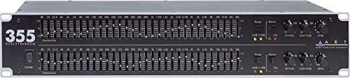 31 Band 1/3 Octave Graphic - ART EQ355 Dual Channel 31-Band Equalizer