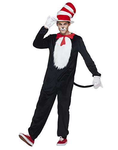 Spirit Halloween Adult Cat in The Hat Costume - Dr. Seuss -