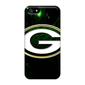 IanJoeyPatricia Iphone 5/5s Bumper Hard Cell-phone Case Support Personal Customs High Resolution Green Bay Packers Pattern [nyW4103brCq]