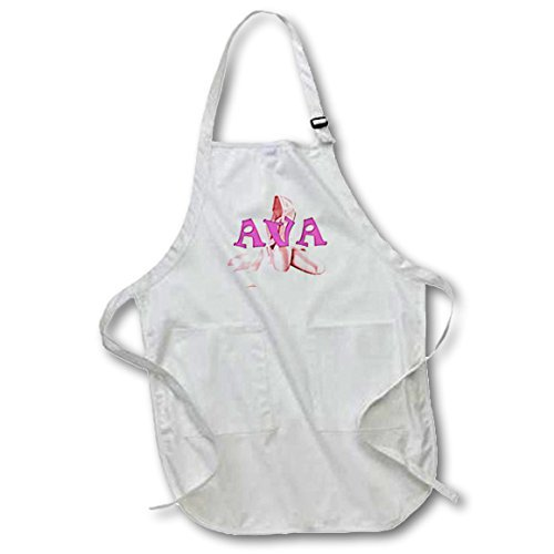 Cute Apron Patterns for Kids Ava Pink Ballet Shoes Restaurant Kitchen Chef Cooking BBQ Aprons Adjustable Neck Strap Waist Ties