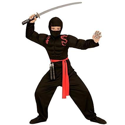 Power Ninja infantil Disfraz Bandit Guerrero Samurai ...