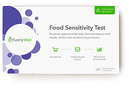 Everlywell Food Sensitivity Test - at Home - CLIA-Certified Adult Test - Personalized