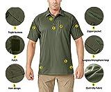 TACVASEN Men's Lightweight Airsoft Pullover T-Shirt