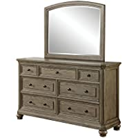 HOMES: Inside + Out IDF-7719-DM Willana Dresser Mirror Transitional