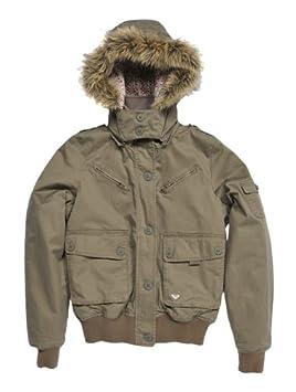 Roxy Outdoor chaqueta Call Me, otoño/invierno, mujer, color Verde - militar