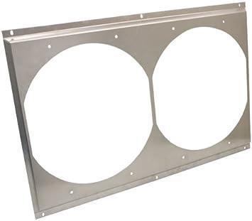 25-5//8 x 16-5//8 CFR Ultracool Radiator Fan Shroud Dual-Unit