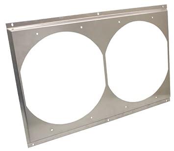 Amazon cfr ultracool radiator fan shroud dual unit 25 58 x cfr ultracool radiator fan shroud dual unit 25 58quot x sciox Choice Image