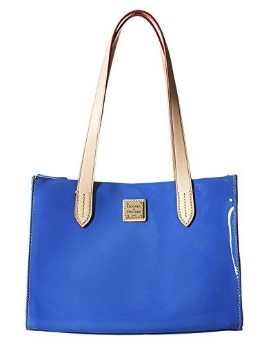 Bag Patent Leather Shopper (Dooney & Bourke Ocean Patent Leather Small Shopper)