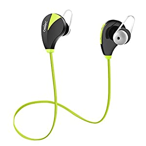 AELEC Bluetooth Headphones Wireless Sports Earbuds Sweatproof Earphones Noise Cancelling Headsets with Mic for Running Jogging Long Battery Life