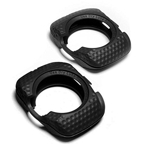 SPEEDPLAY Walkable Cleats REPLACEMENT Covers for ZERO AERO (Black)