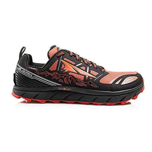 Altra Lone Peak Zapato de Neo bajo 3.0-Hombre Negro/Naranja