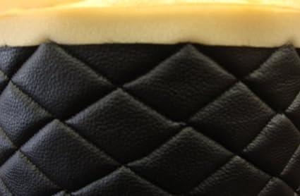Amazon.com: Negro acolchada con tela de vinilo 3/8