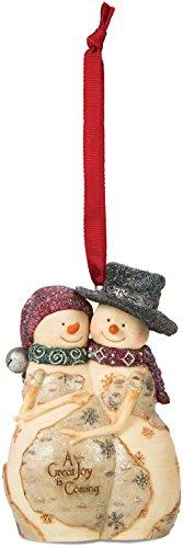 Pavilion Gift Company The Birchhearts 81102 Snowman Coupl...