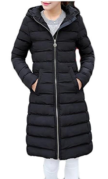 Ainr Imbottito Con Leggero Zipper Cappuccio Women's Piumino Slim In Warm RwxqRAO1C
