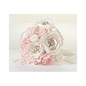 Lillian Rose Chic and Shabby Blush Bouquet 14