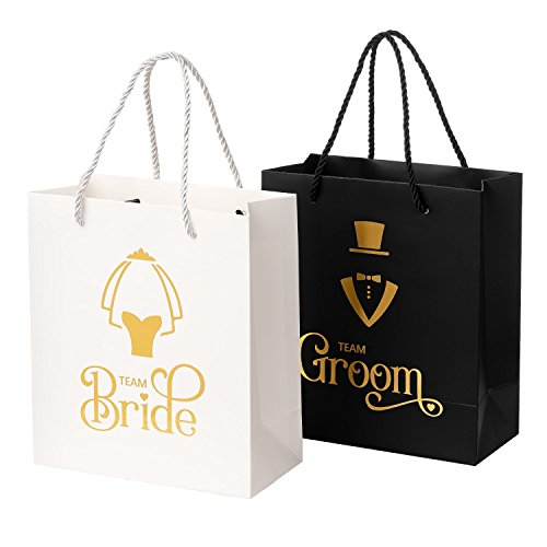 Crisky Wedding Party Gift Bag Assortment - 6