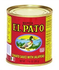 (El Pato Tomato Sauce with Jalapeno (Pack of 6))