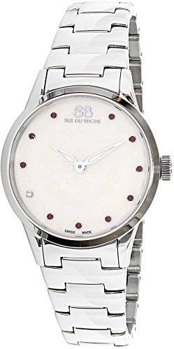 88 Rue Du Rhone Women's Rive 87WA153207 Silver Stainless-Steel Swiss Quartz Dress Watch