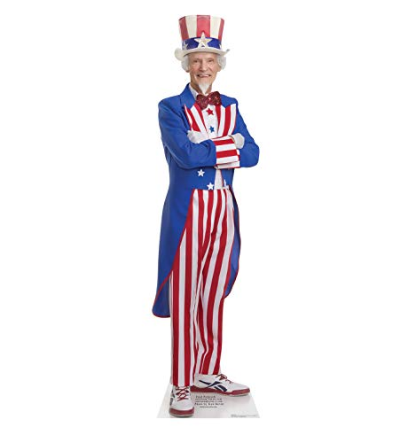 Advanced Graphics Uncle Sam Life Size Cardboard Cutout Standup
