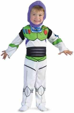 Buzz Lightyear Boy's Classic Toy Story Costume