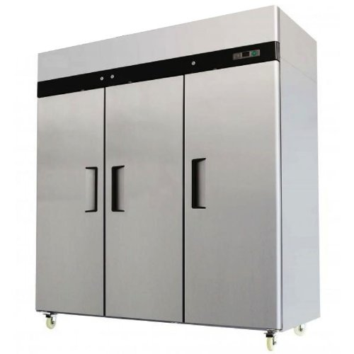 78″ Freezer Triple Solid Doors 69 Cubic Ft. Stainless Steel Reach-in Commercial Grade Restaurant Model MBF8003